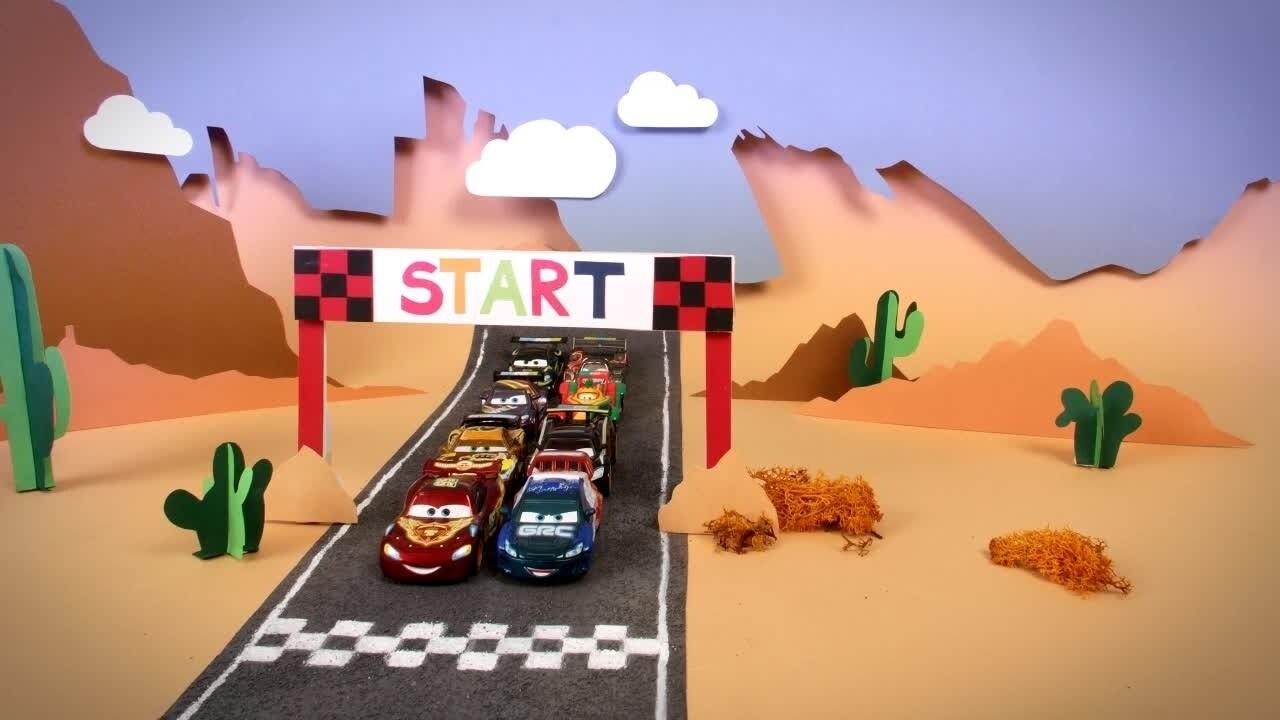 Une course de voiture pas comme les autres avec Cars