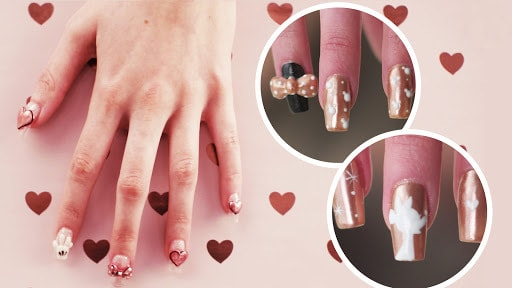 Rose Gold Minnie Nail Art, 3 Ways | TIPS by Disney Style