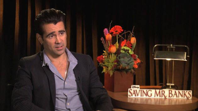 Colin Farrell on Saving Mr. Banks