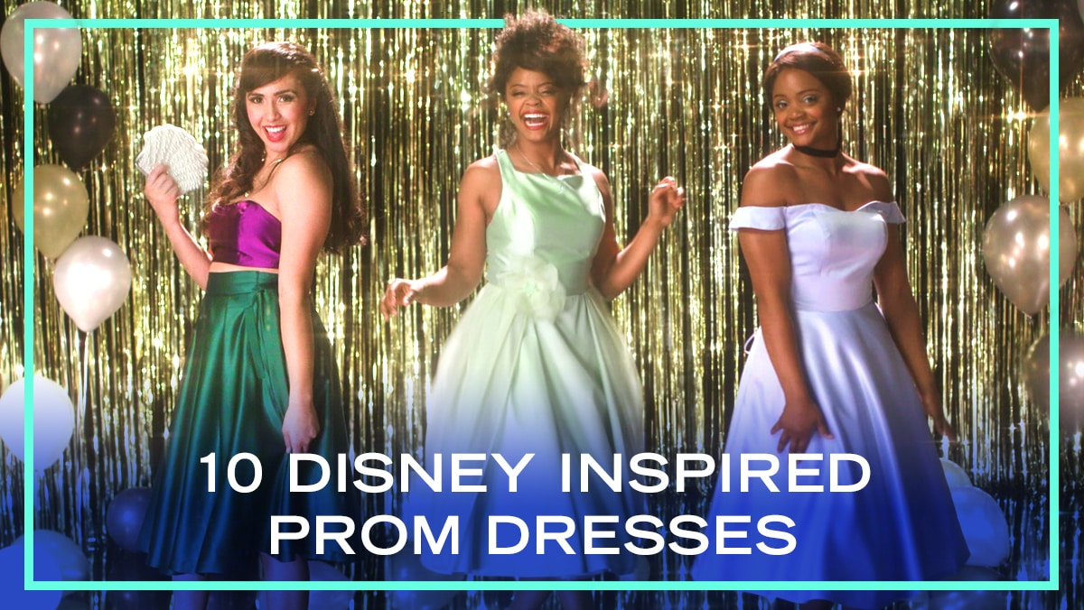 10 Prom Looks Inspired by Disney Characters | Fashion by Disney Style