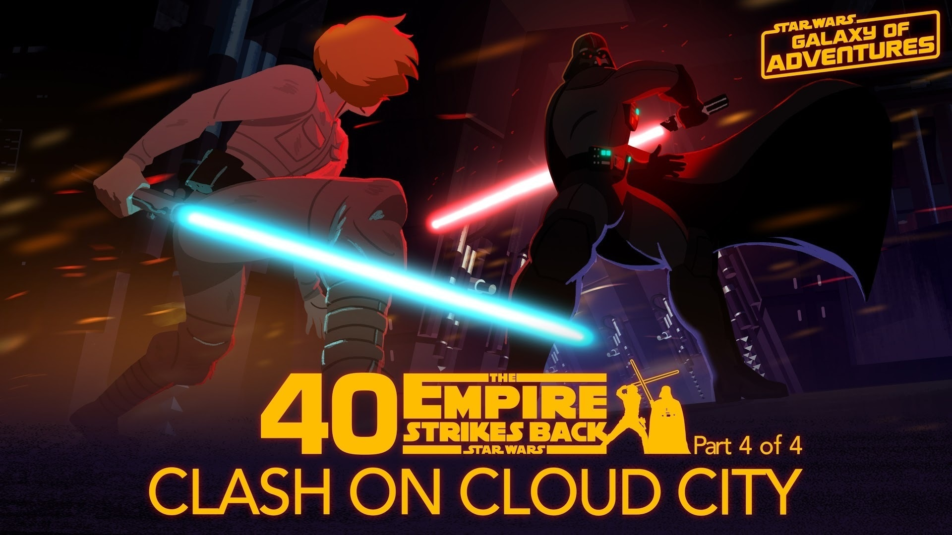 Clash on Cloud City | Star Wars Galaxy of Adventures