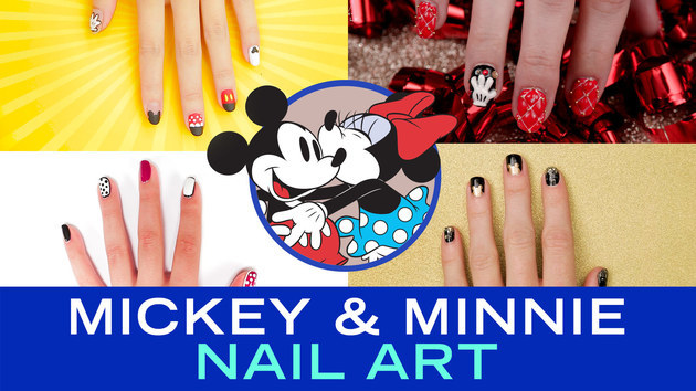 Mickey and Minnie Nail Art | TIPS by Disney Style