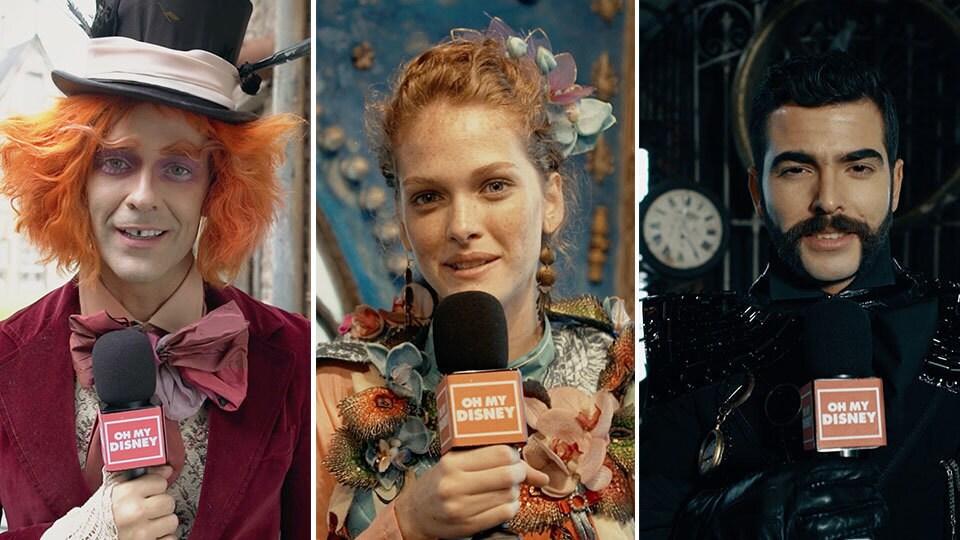 3 preguntas a los protagonistas de #TiempoDeLocura | Oh My Disney