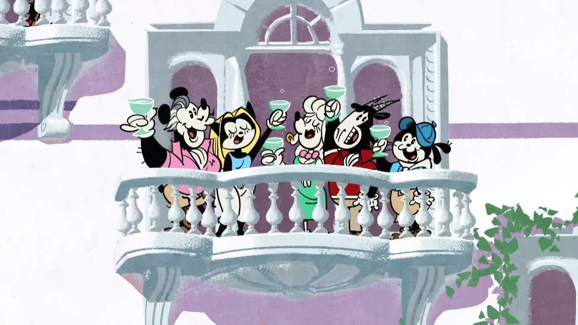 Mickey Mouse Shorts - La course à la limonade