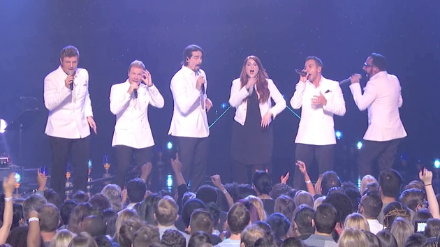 "BACKSTREET BOYS & MEGHAN TRAINOR - ""I Want It That Way"""