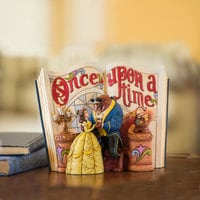 Beauty and the Beast Story Book Figurine by Jim Shore