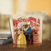 Image of Beauty and the Beast Story Book Figurine by Jim Shore # 2