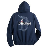 Mickey Mouse with Disneyland Logo Hoodie for Adults - Navy