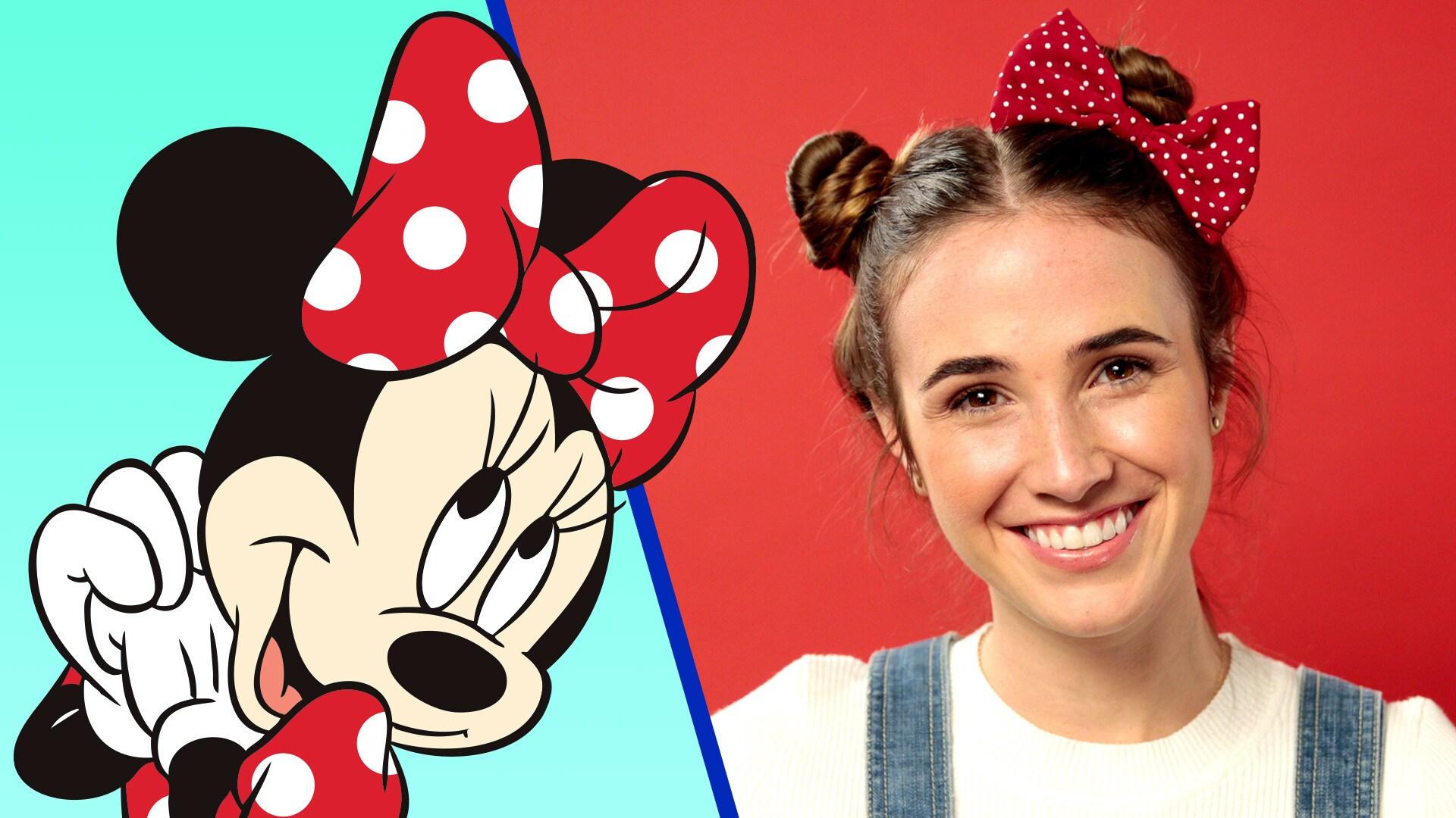 Disney Style | Minnie Mouse Hair Tutorial