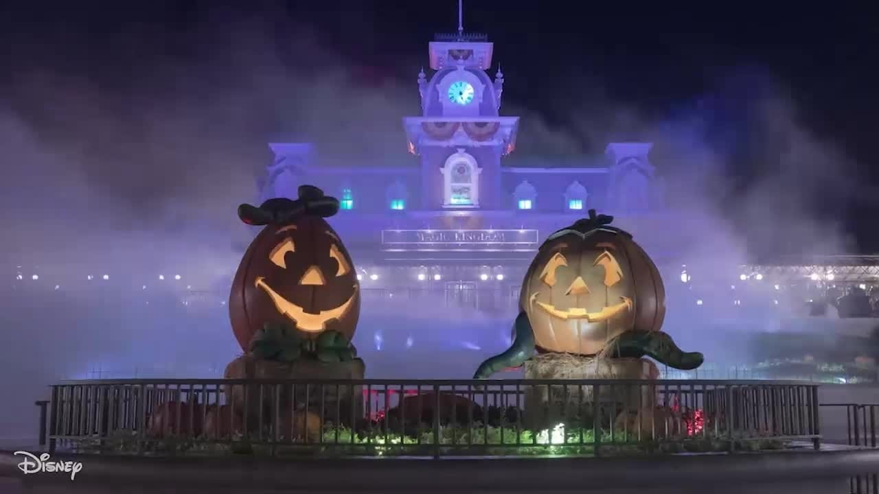 Walt Disney World's Halloween Transformation