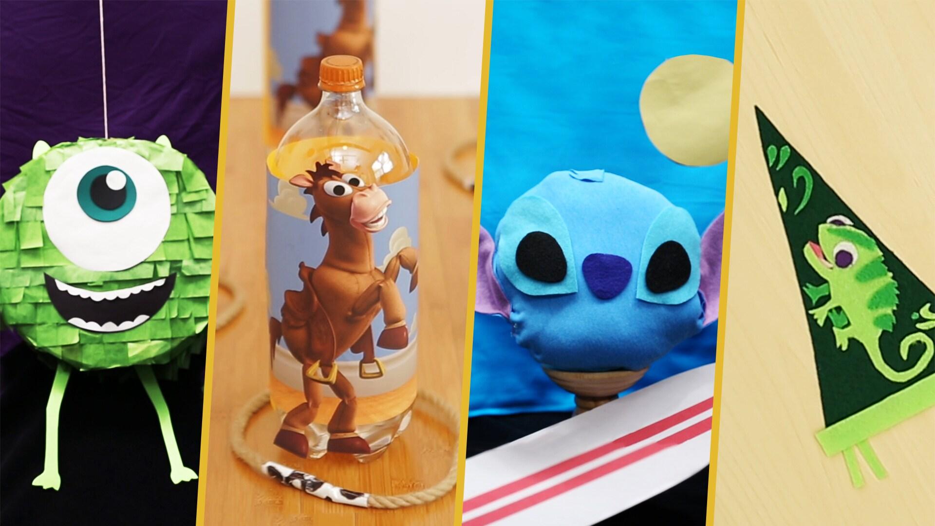 Crafts For A Rainy Day | Disney DIY by Disney Family