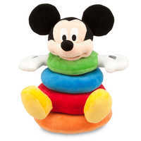 Image of Mickey Mouse Plush Stacking Toy for Baby # 1