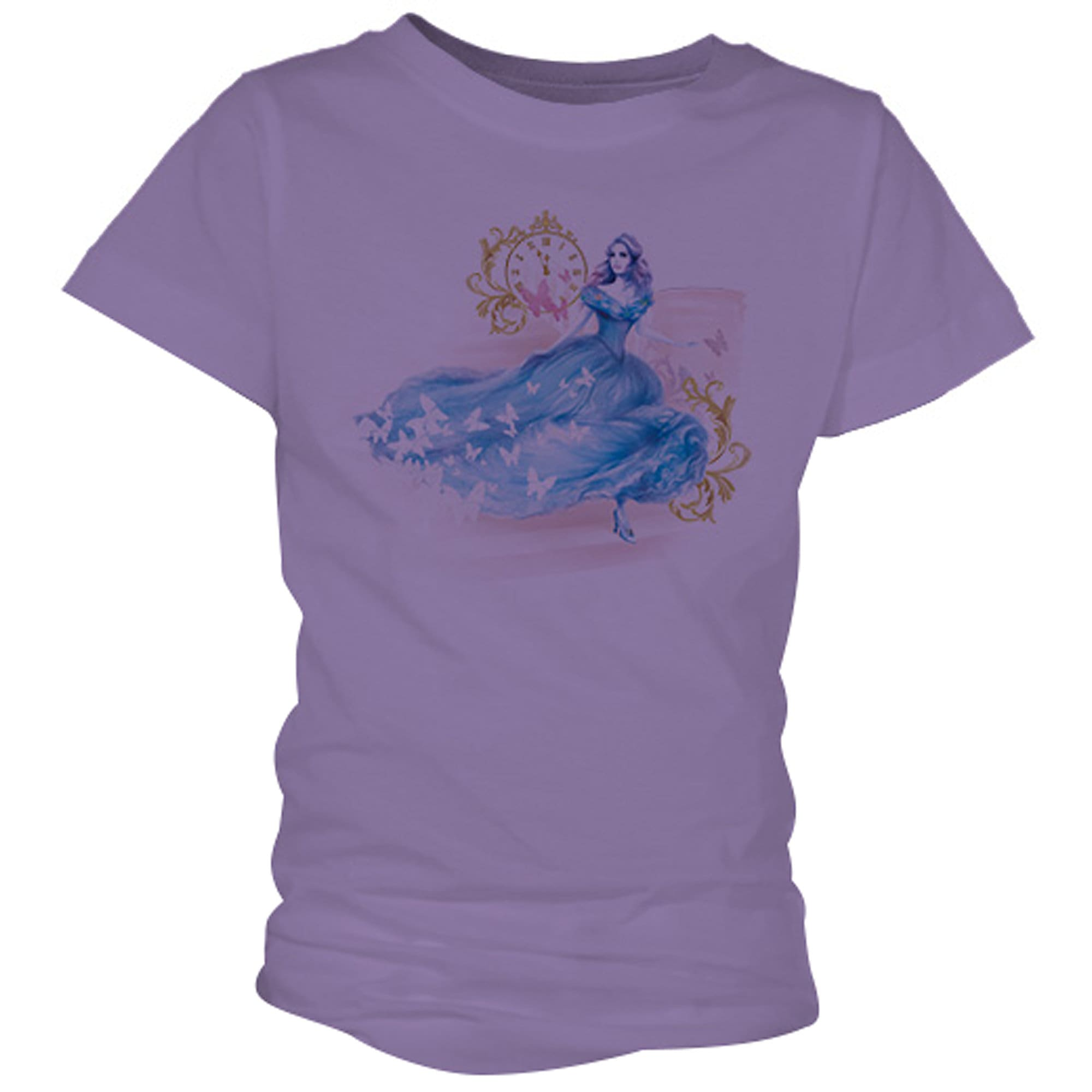 Cinderella Midnight Tee for Girls - Live Action Film - Customizable