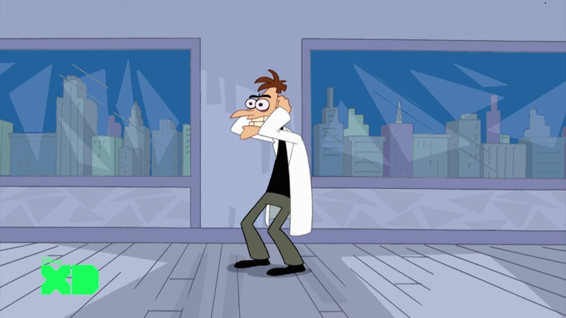 Morning Motivator - Phineas and Ferb: Dancing is Evil