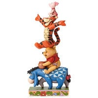 Image of Winnie the Pooh and Pals ''Built By Friendship'' Figure by Jim Shore # 3