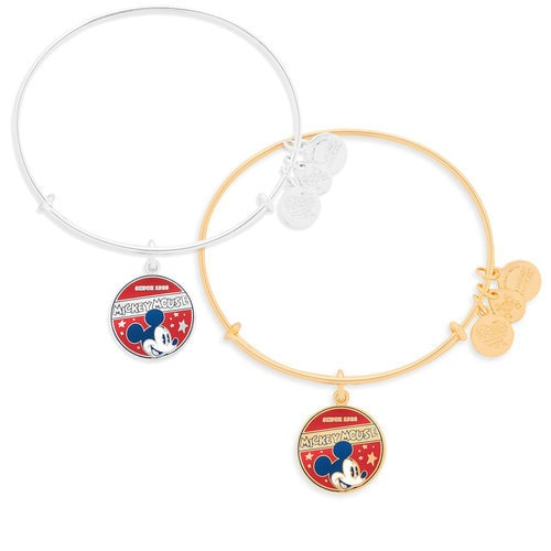 Mickey Mouse Banner Bangle by Alex and Ani