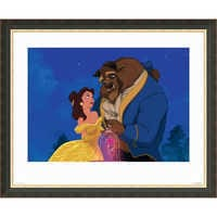 Image of ''Beauty and the Beast Dancing'' Giclé # 2