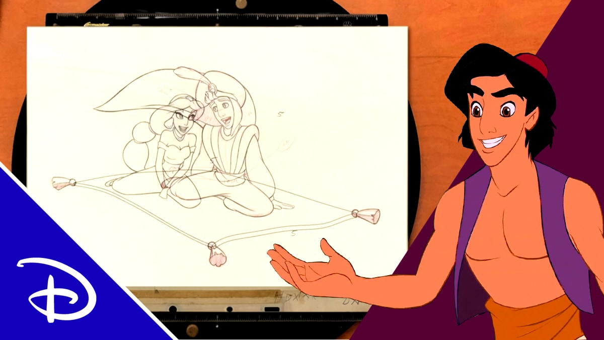 Imagination to Animation: Aladdin | Disney