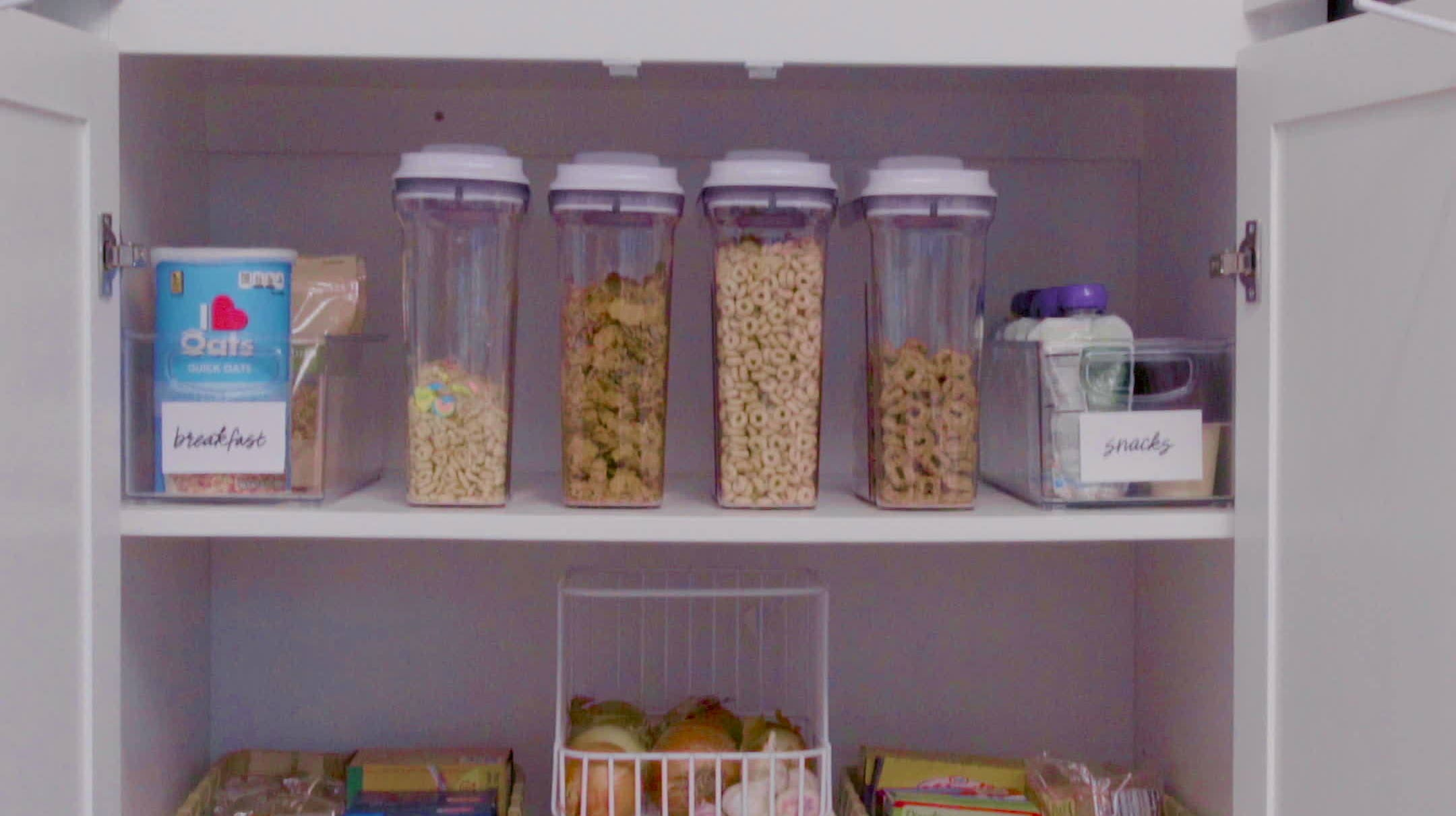 Soothe Your Soul With This Magically Cleaned Pantry | Babble