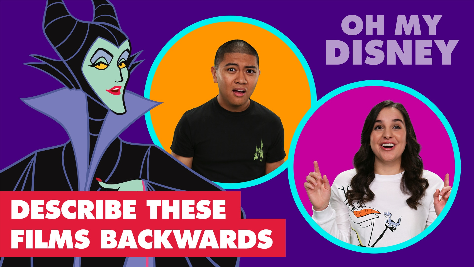 Fans Retell Disney Movies Backwards in Under 60 Seconds | Let's Talk Disney