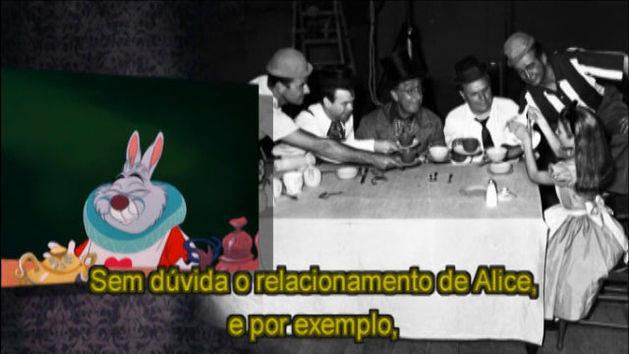 A festa do chá - Alice no País das Maravilhas