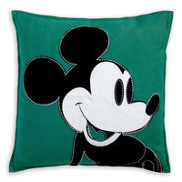 Mickey Mouse Color Block Pillow by Ethan Allen
