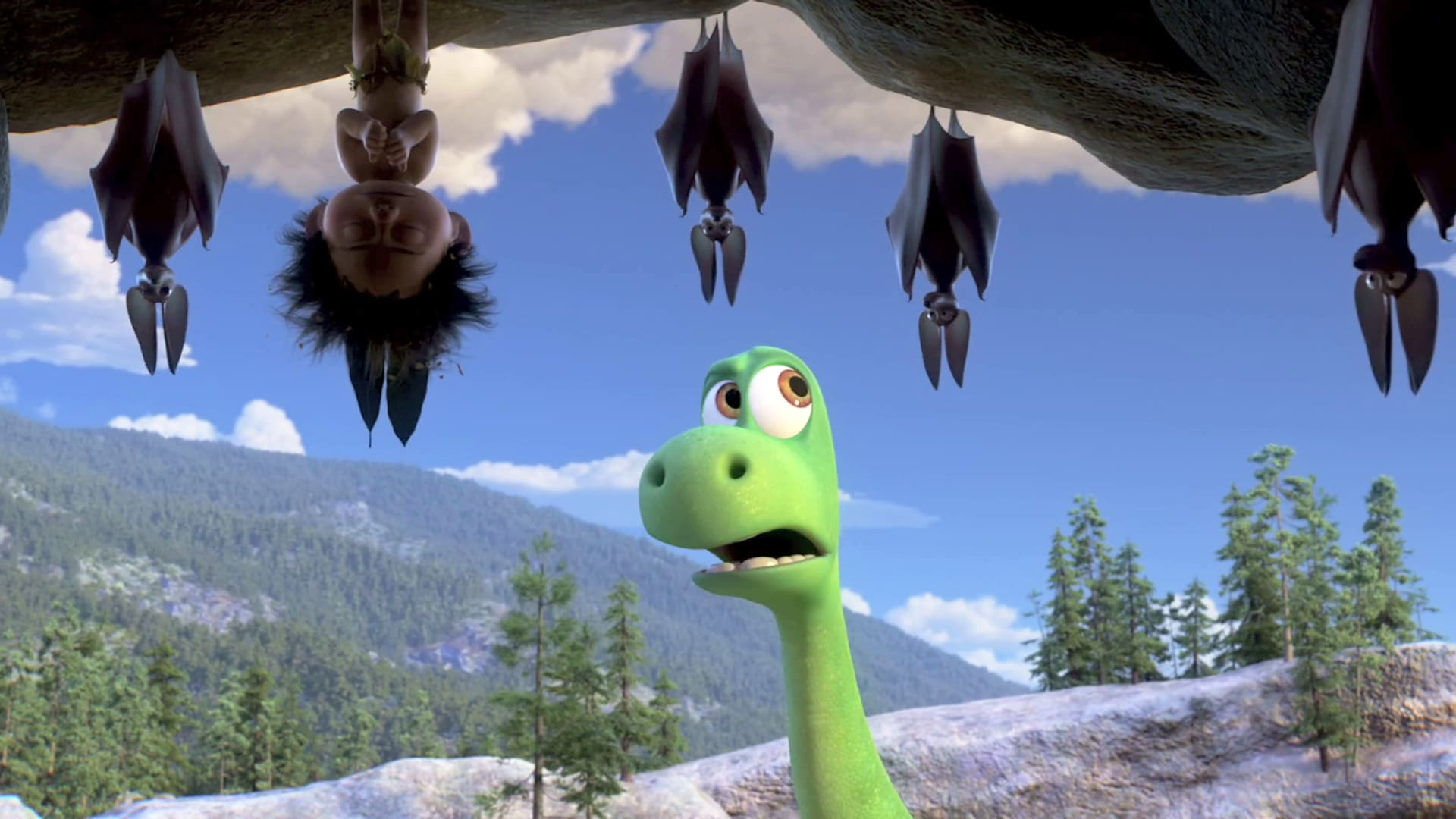 """Hide and Seek"" - The Good Dinosaur Clip"