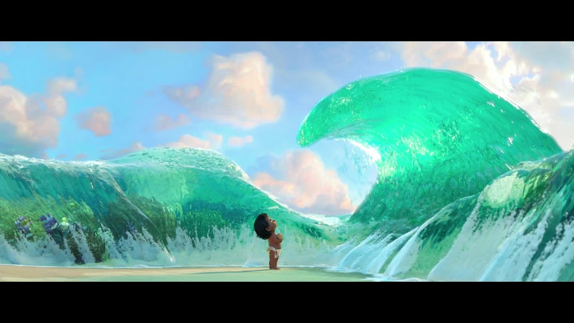 Vaiana, la légende du bout du monde – bande annonce « Au revoir la Mer »