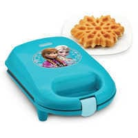 Image of Anna and Elsa Snowflake Waffle Maker # 1
