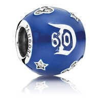 Image of Disneyland 60th Anniversary Charm by Pandora Jewelry # 1