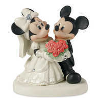 Image of Mickey and Minnie Mouse Wedding Figure by Disney Showcase # 1