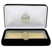 Image of Walt Disney World Replica 24K Gold Plated Transportation Ticket - Limited Edition # 3