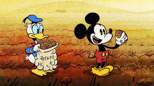 Potatoland Mickey Mouse And Friends Disney Video