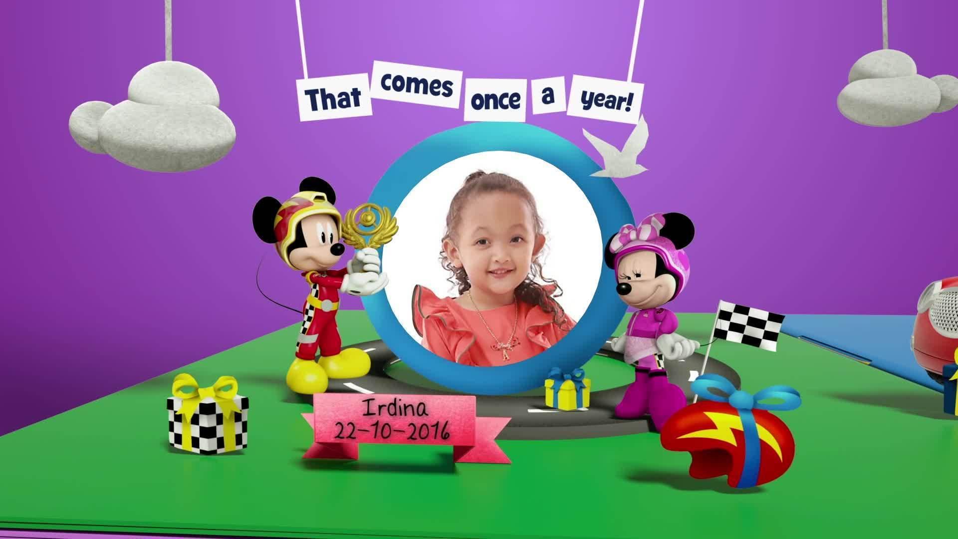 Disney Junior Birthday Book 2020 October Album 1