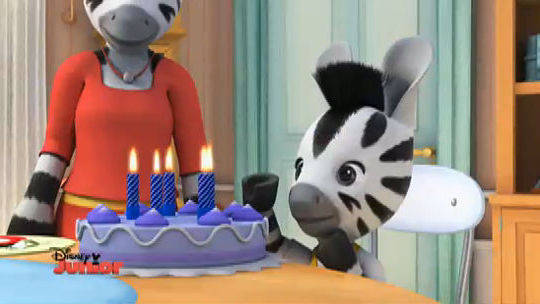 Zou compleanno disney junior video
