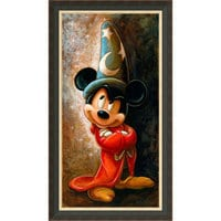 Image of Sorcerer Mickey Mouse Giclée by Darren Wilson # 7
