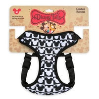 Mickey Mouse Checkered Comfort Harness for Dogs