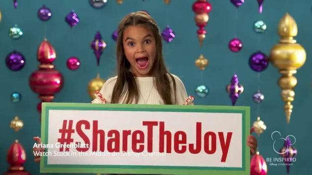 share the joy disney citizenship - Disney Channel Christmas