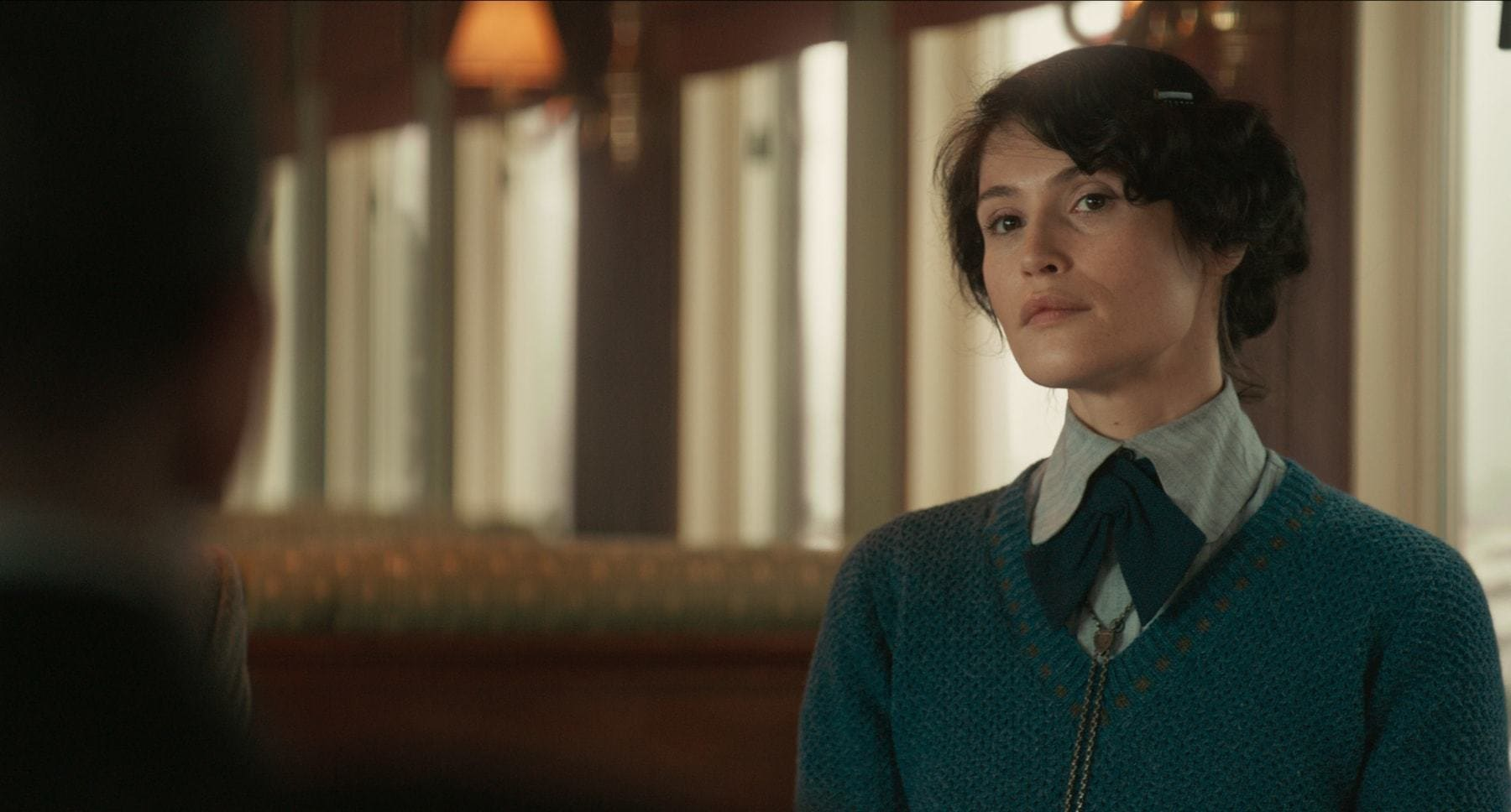 "Gemma Arterton (as Polly) in the movie ""The King's Man"""
