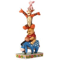 Image of Winnie the Pooh and Pals ''Built By Friendship'' Figure by Jim Shore # 1