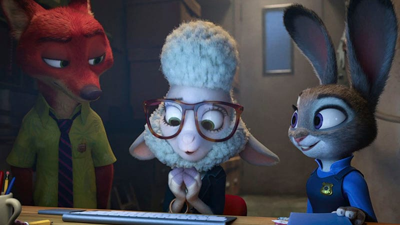 Zootropolis - Assistant Mayor BellWeather