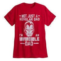 Image of Iron Man ''Dad'' Tee for Men # 1