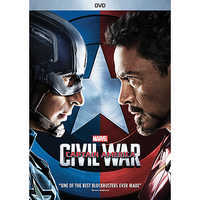Image of Captain America: Civil War DVD # 1