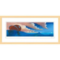 Image of Finding Nemo ''Sequence Pastel: Drop Off'' Framed Giclée on Paper by Ralph Eggleston - Limited Edition # 1