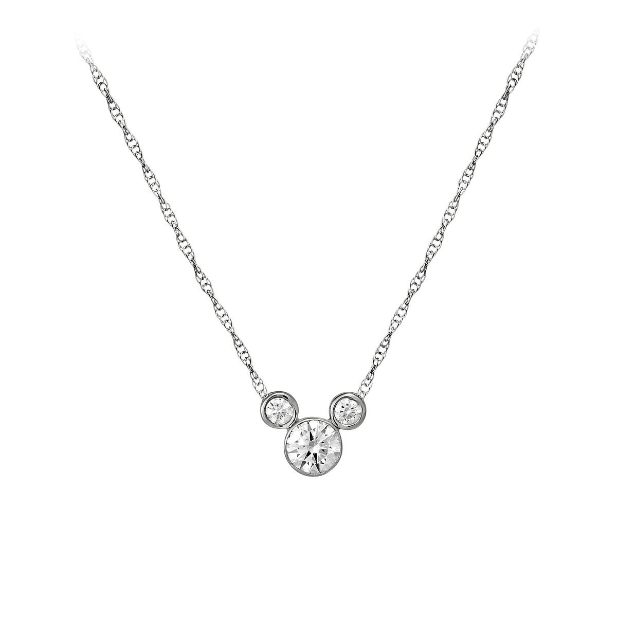 Mickey mouse necklace small shopdisney mickey mouse necklace small audiocablefo