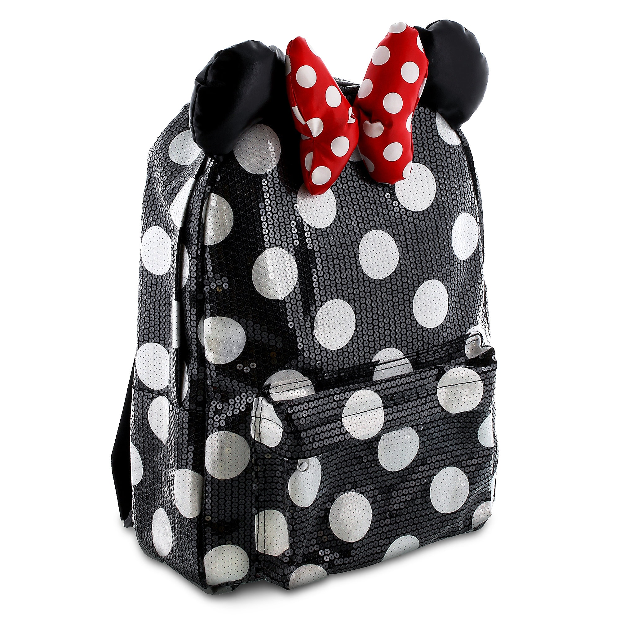 Product image of minnie mouse sequin backpack for kids jpg 1200x1200 White sequin  backpack 030db4477e958
