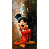 Image of Sorcerer Mickey Mouse Giclée by Darren Wilson # 1