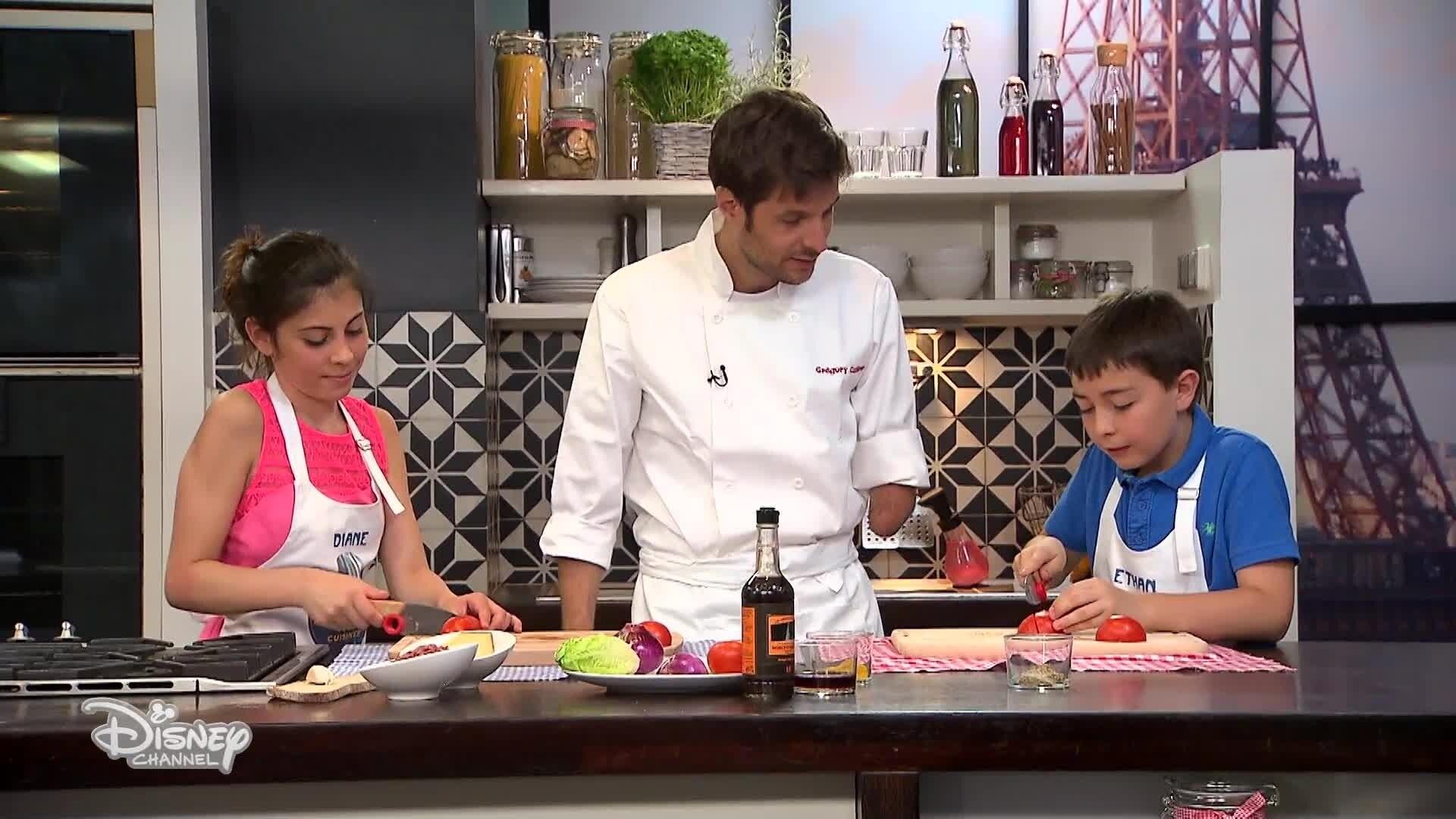 Le Hamburger de Ethan et Diane - Chez Rémy Tout Le Monde Peut Cuisiner - Partie 2