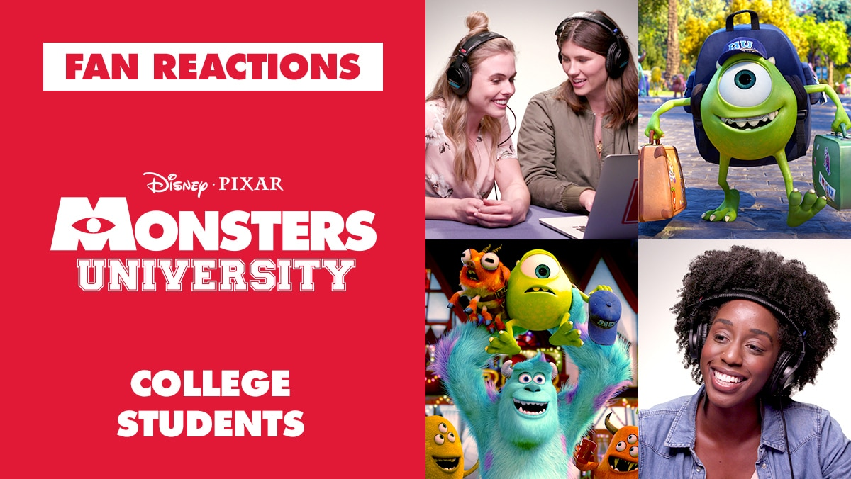 Fans Compare Their College Experience to Monsters University | Reactions by Oh My Disney