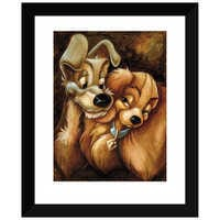 Image of ''Lady and the Tramp'' Giclée by Darren Wilson # 2
